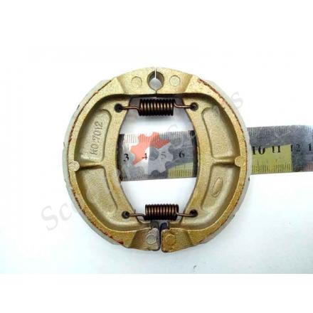 Гальмівні колодки, GY6 50-80 куб. задні, барабанне гальмо, 12-13 дюймів, колісний диск