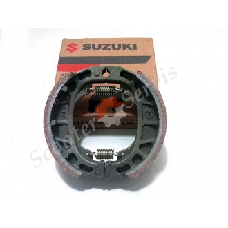 Тормозные колодки задние барабанный тормоз Suzuki CG 125