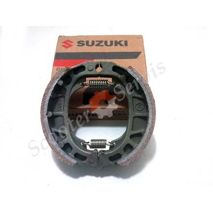 Гальмівні колодки задні барабанне гальмо Suzuki CG 125