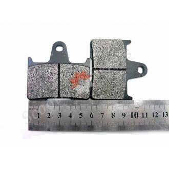 Тормозные колодки задние HONDA CB400, CB1300 X4 97-01, VTEC400 1-2 поколение, дисковый тормоз