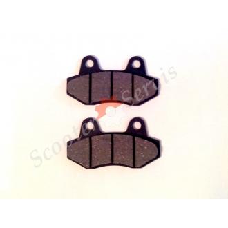 Тормозные колодки задние (двух поршневые ), 2т-4т 50-250сс
