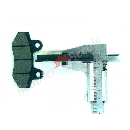 Гальмівні колодки задні (двох поршневі), 2т-4т 50-250сс