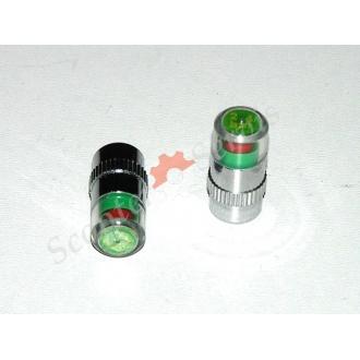 Колпачок монометр  - измеритель давления шины колеса