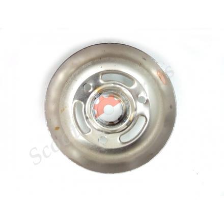 Накладка торцевая хромированная на круглый глушитель