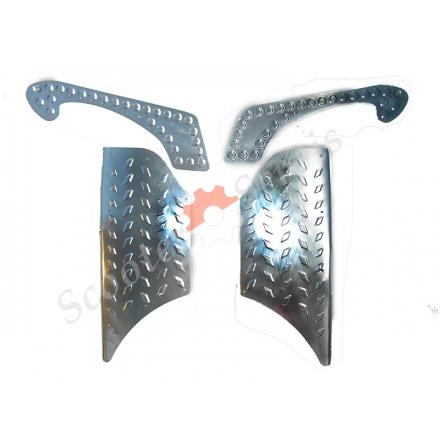 Накладки на полик Хонда Джокер, Трува металлические