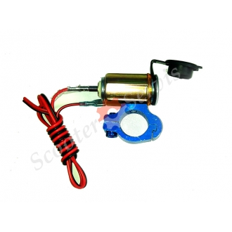 Прикуриватель с креплением для руля и защитной крышкой (набор)