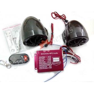 Сигнализация, музыка (мр3), радио, светомузыка (без проводного пульта)