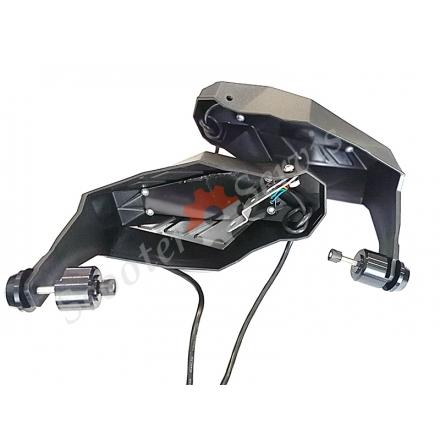 Захист рук з Led габаритами, поворотами на кермо мотоцикла, скутера, квадроцикла (ВІДЕО)