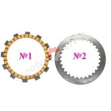 Диск сцепления мотоцикла YZ125, WR250, XT250, YFM250, YZ250