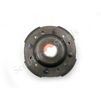Сцепление плата 4-х колодочная тип YP250 диаметр 143мм, для квадроциклов 250 300 кубов, Баотиан, Линхай, Кивей, Кимко, 300 кубов