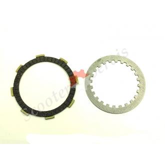 Комплект дисків зчеплення CG / CB 150/250 кубів, китайського мотоцикла Zongshen, Viper, Shaneray, Geon, 91 / 110мм
