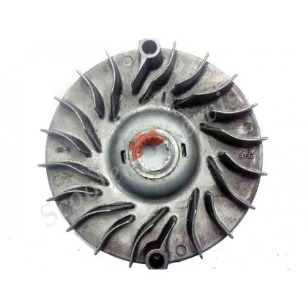 Крыльчатка вариатора двигателя YP-250 Yamaha Majesty 250, Ямаха Маджести 250, Браво 260, Лаки 260, Босс 250, Спидгир 250, Nitro 250, квадроцикла 250-300 кубов