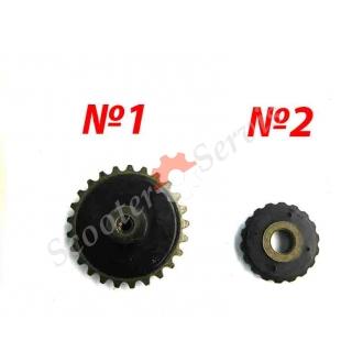 Ролики цепи ГРМ на Дельта, Актив, Альфа, тип двигателя 1P39FMB, 147FMD, 152FMH