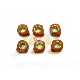 Ролики вариатора (15*12) 6гр, полигональные, тип двигателя:Yamaha, тип двигателя 3KG 2T, 50кубов