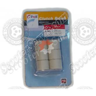 Ролики варіатора 125-150сс 10 грам