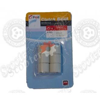 Ролики вариатора Дио-50 на скутера 4Т-50сс 4,5 грамм
