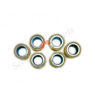 Ролики вариатора двигатель 4Т ARN-125/150, Keeway, Кивей, Гепард,Viper Omega, Kanuni Aspire, Skymoto Asia, 157QMG,16 дюйм колесо