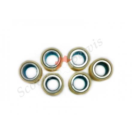 Ролики варіатора двигун 4Т ARN-125/150, Keeway, Ківей, Гепард, Viper Omega, Kanuni Aspire, Skymoto Asia, 157QMG, 16 дюйм колесо