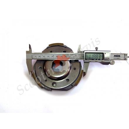 Зчеплення плата для китайських скутерів 125 - 150 кубів двигуна тип GY6 125/150 сс