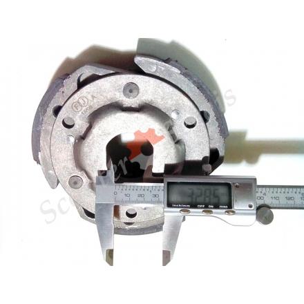 Зчеплення плата тип YP 250 діаметр 143 мм, для квадроциклів 250 300 кубів, Баотіан, Лінхай, Ківей, Кімко, 300 кубів
