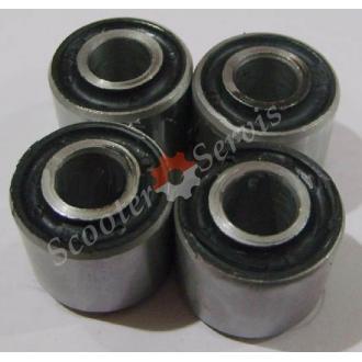 Сайлентблоки 24 * 10 * 21 для колиски кріплення двигуна скутера Браво 260, Барум 260