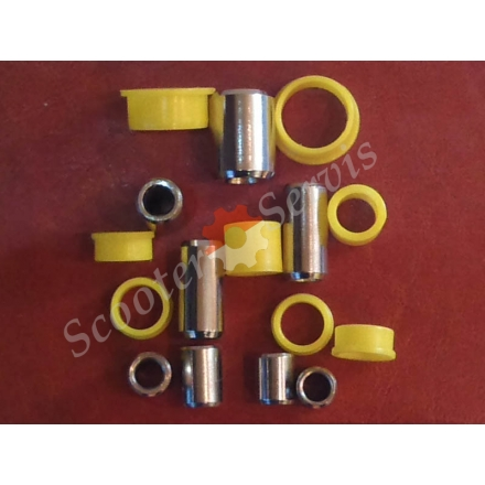 Втулки передней вилки, рычажная, японские и китайские скутера, набор с металлическими втулками, ремкомплект рычажной вилки