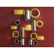 Втулки передньої вилки, важільна, японські та китайські скутера, набір з металевими втулками, ремкомплект важеля вилки