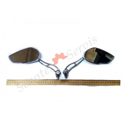 Дзеркала тип KOSO металеві, хромовані, сферичне дзеркало.
