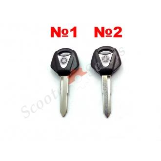 Ключ тип Ямаха, Yamaha, китайські скутера, заготівля, права, ліва борозна