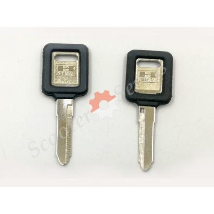 Ключ заготівля Kawasaki BMW ZRX400, ZZR250, ZZR400, ZXR250, ZXR400 ліва, права борозна