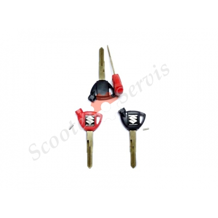Ключ заготівля з магнітом для Suzuki Burgman, Suzuki SkyWave, AN250, AN400 Сузукі Бургман, Скайвей