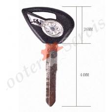 Заготовка ключа на мотоцикл Yamaha Drag Star, Prince, DS 400; DS 650; DS 1100; XV 950