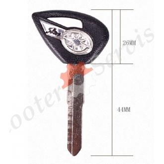 Заготівля ключа на мотоцикл Yamaha Drag Star, Prince, DS 400; DS 650; DS 1100; XV 950
