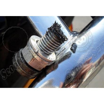 Магнит для задержки металлических частиц, в масле 4т двигателей
