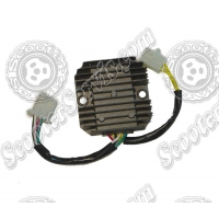 Регулятор напряжения 125-150сс, 250-260сс 7 проводов