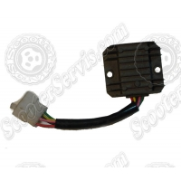 Регулятор напряжения 125-150сс, 5 проводов (черный)