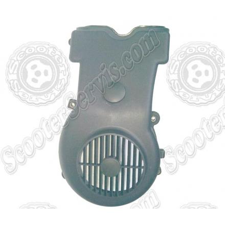 Кожух захисту крильчатки обдування, вентилятора, Сузукі Векстар, Suzuki Vecstar, AN125, AN150