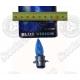 Лампа головного света ближний-дальний 12V 35/35W (голубая), 1 ус