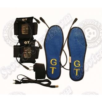 Стельки с подогревом, электро, литиевые аккумуляторы 1900 мА, 4,7V (3 режима подогрева)