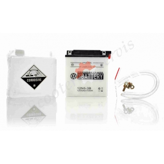 Аккумулятор 12N5‑3B, 12V 5A, кислотный