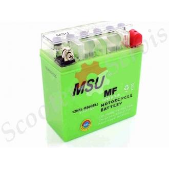 Аккумулятор 12N5L‑BS 12V 5A  гелевый