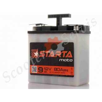 Акумулятор 12V 9A, кислотний