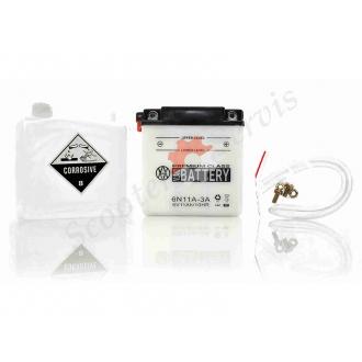 Аккумулятор 6N11A‑3A, 6V 11A, кислотный...