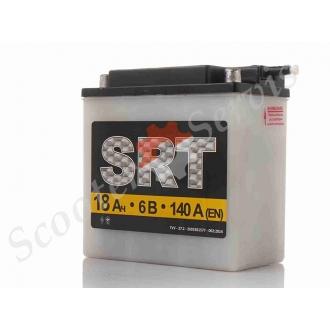 Аккумулятор 6V 18A, кислотный
