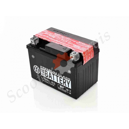 Акумулятор UTX4L-BS, 12V 4A, кислотний
