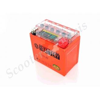 Акумулятор UTX5L-BS, 12V 5A, гелевий, з індикатором стану батареї