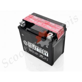 Акумулятор UTX5L-BS, 12V 5A, кислотний