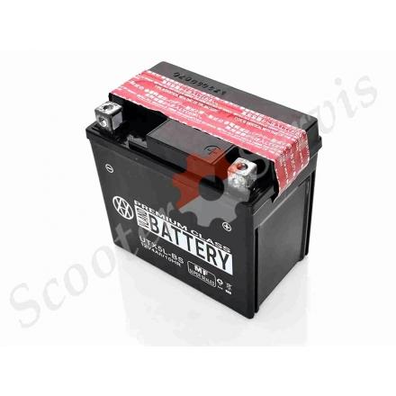 Аккумулятор UTX5L‑BS, 12V 5A, кислотный