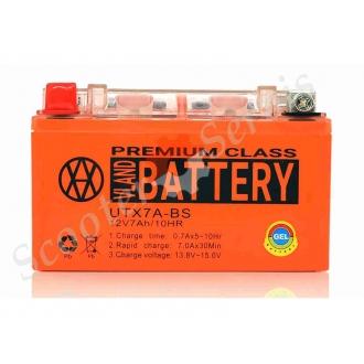 Аккумулятор UTX7A‑BS, 12V 7A, гелевый