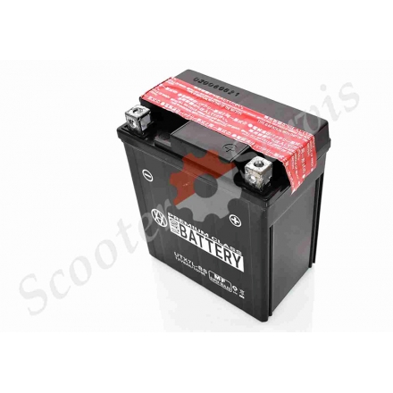 Акумулятор UTX7L-BS, 12V 7A, кислотний, вис.